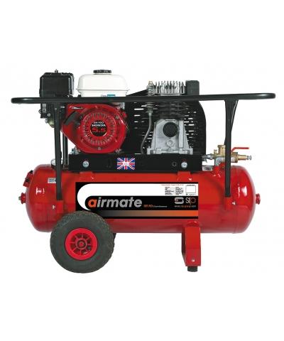 SIP Petrol Airmate Industrial Belt Driver 50ltr Compressor 04444