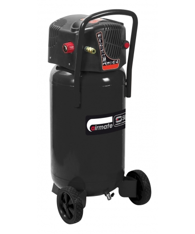 SIP 06246 Airmate Hurricane V245/50 - Vertical Air Compressor