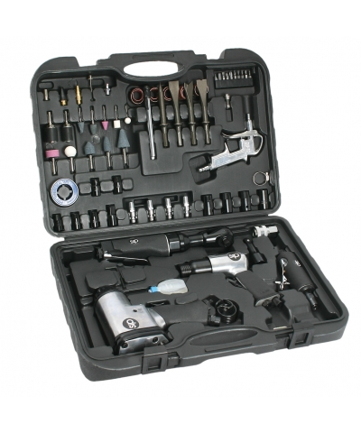 SIP 07197 Air Tool Kit (73 Pieces)