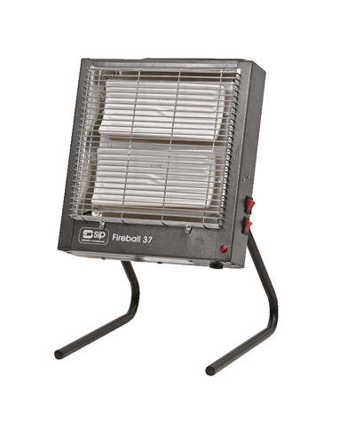 SIP 09193 Fireball 37 Electric Ceramic Infrared heater