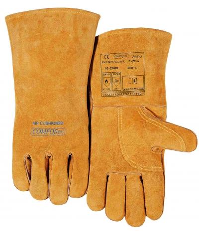Weldas Bucktan Wide Body Welding Gauntlet, COMFOflex® (10-2000) Large