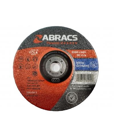ABRACS Phoenix II 178mm x 6mm metal grinding disc pk of 10