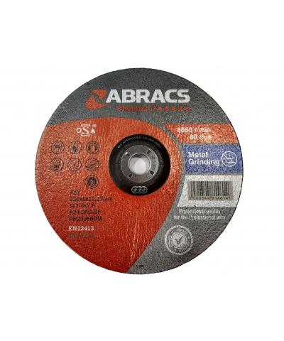 ABRACS Phoenix II 230mm x 6mm Metal Grinding Disc pk of 10