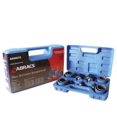 ABRACS Zirconium Spiralband Kit Pack of 25