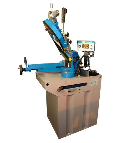 Cutmax 210 Pedestal Mounted Bandsaw Semi Automatic 240v
