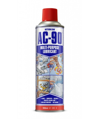 Action Can AC-90 multipurpose lubricant spray 500ml