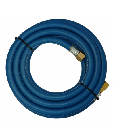 Parweld 10m Blue Oxygen Fitted Hose