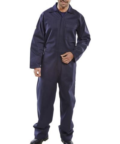 Fire Retardant Boilersuit Navy Blue