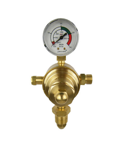 Parweld Single Stage 1 Gauge Argon Gas Regulator 300 Bar E700140