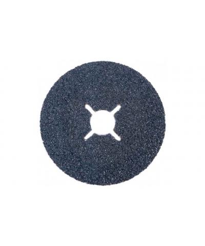 ABRACS 115mm x 22mm x 60grit Zirconium Fibre Sanding Disc pk of 25