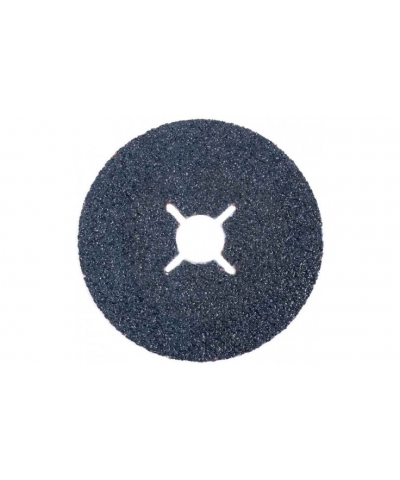 ABRACS 115mm x 22mm x 120grit Zirconium Fibre Sanding Disc pk of 25