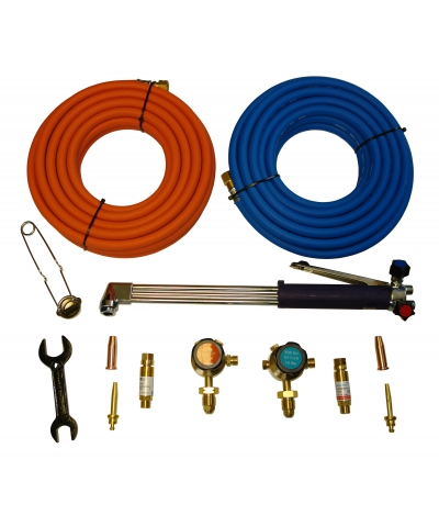 Parweld Oxygen and Propane Gas Cutting Contractor Kit