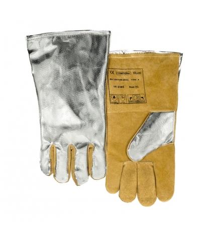 Weldas COMFOflex® Aluminized back Welding Gauntlet (10-2385) Large