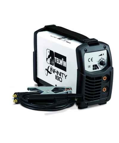 Telwin 160 amp 230v MMA welding kit with accessories