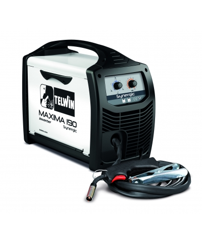 Telwin Maxima 190 Synergic MIG welder (Disposable CylinderKit)