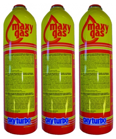 Oxyturbo Disposable Maxy Gas Cylinder Package for Turbo Set 90 (483200)