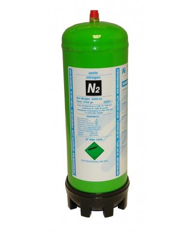 Nitrogen (N2) disposable gas cylinder