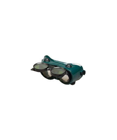 Round Lens Flip Up Welding Goggle