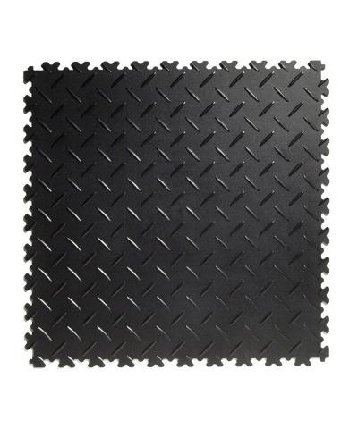 Flexi-Tile Black Elite 4mm soft (commercial) Diamond