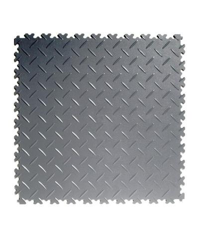 Flexi-Tile Dark Grey Elite 4mm soft (commercial) Diamond