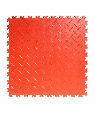 Flexi-Tile Red Elite 4mm soft (commercial) Diamond