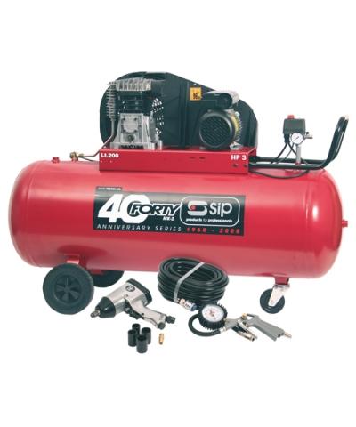 SIP 04294 Forty MkII 200 Litre Compressor TN3/200-SRB