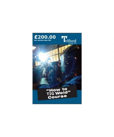 How to TIG Weld Welding Course - 21st October 2020