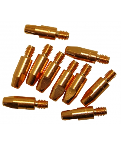 Parweld Welding Tips For MB25/MB36 MIG Torch 1.0mm ECO2504-10 Pack of 10