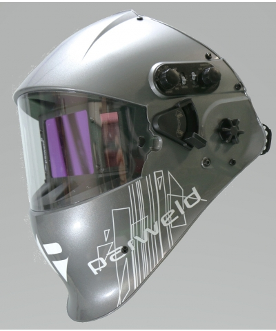 Parweld XR950A Flip Filter Welding and Grinding helmet with Air Purifying Respirator