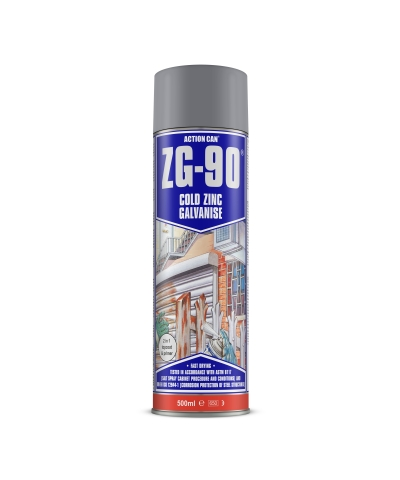 Action Can ZG-90 Cold Zinc Galvanising Spray 500ml