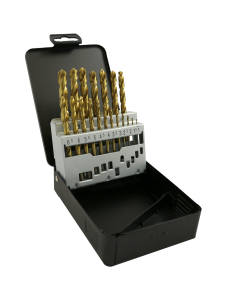 ABRACS 25 Piece HSS Titanium Drill Bit Set