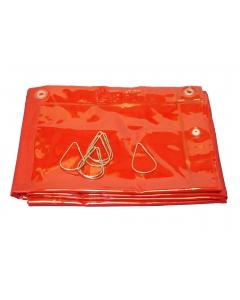 Cepro Welding Curtain 180x180CM (6' x 6') - Orange