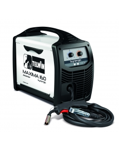 Telwin Maxima 160 Synergic MIG welder (Refillable Cylinder kit)