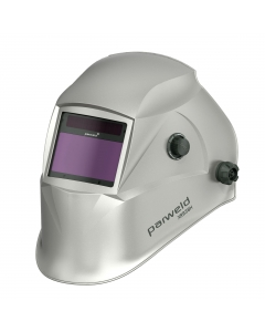 Parweld XR938H Large View Light Reactive Welding and Grinding Helmet - Silver