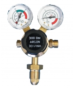 Parweld Single Stage 2 Gauge Argon/Co2 Gas Regulator 300 Bar E700123