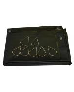 Cepro Welding Curtain 180x180CM (6' x 6') - Green-9
