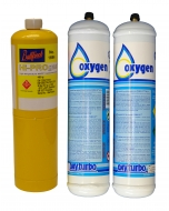 Oxyturbo Oxygen and  Map/pro Gas Cylinder Package