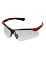 Sports Black and Red Frame with Clear Lens Spectacle