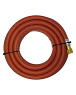 Parweld 5m Red Acetylene Fitted Hose