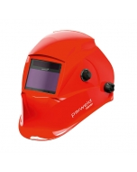Parweld XR938H Large View Light Reactive Welding and Grinding Helmet - Red