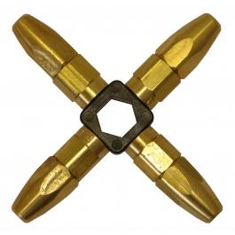 PORTABLE TURBO OXY SET INTERCHANGEABLE STAR TIPS 4 NOZZLES OXY0010 OTS200ST